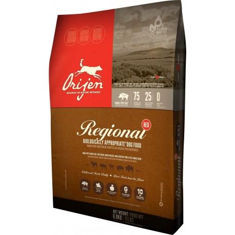 Orijen Regional Red 11,4 Kg Crocchette per Cani