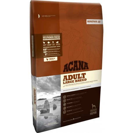 Acana Dog Heritage Adult Large Breed 11,4 Kg