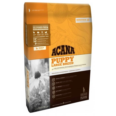 Acana Dog Heritage Puppy Large Breed 11,4 Kg per Cani