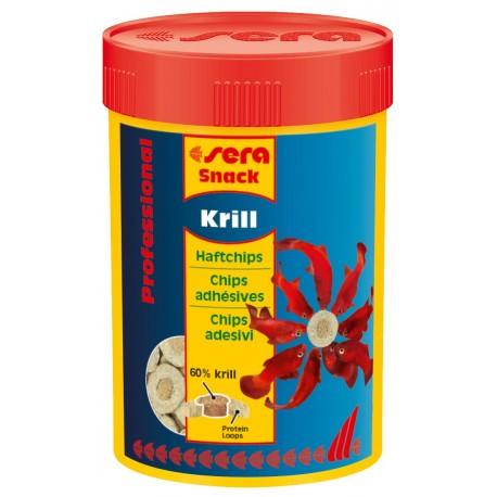 Sera Snack Krill Professional 100 ml Chips Adesivi per Pesci