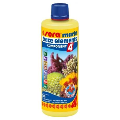 Sera Marin Component 4 oligoelementi 250 ml per Acquario Marino