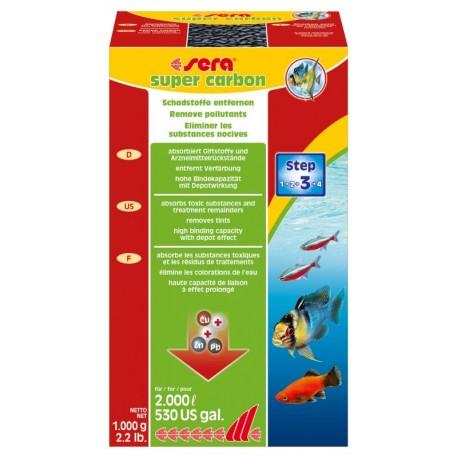 Sera Super Carbon 1000 gr Carbone Iperattivo per Acquario