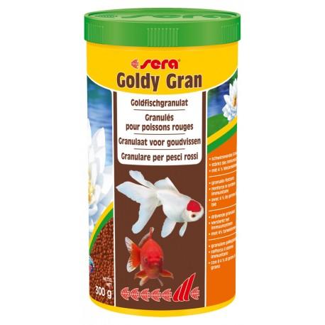 Sera Goldy Gran 1000 ml 300g Mangime in Granuli per Pesci Rossi Acquario