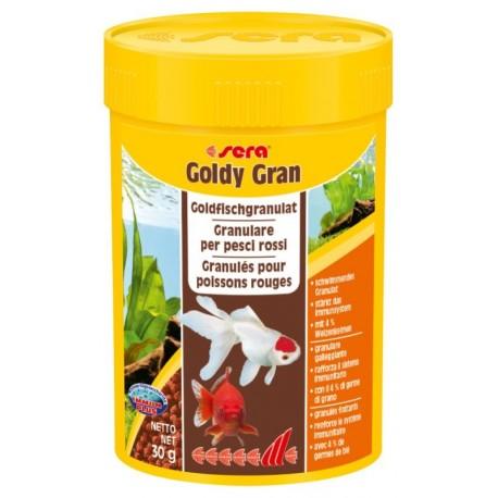 Sera Goldy Gran 100 ml 30g Mangime in Granuli per Pesci Rossi Acquario
