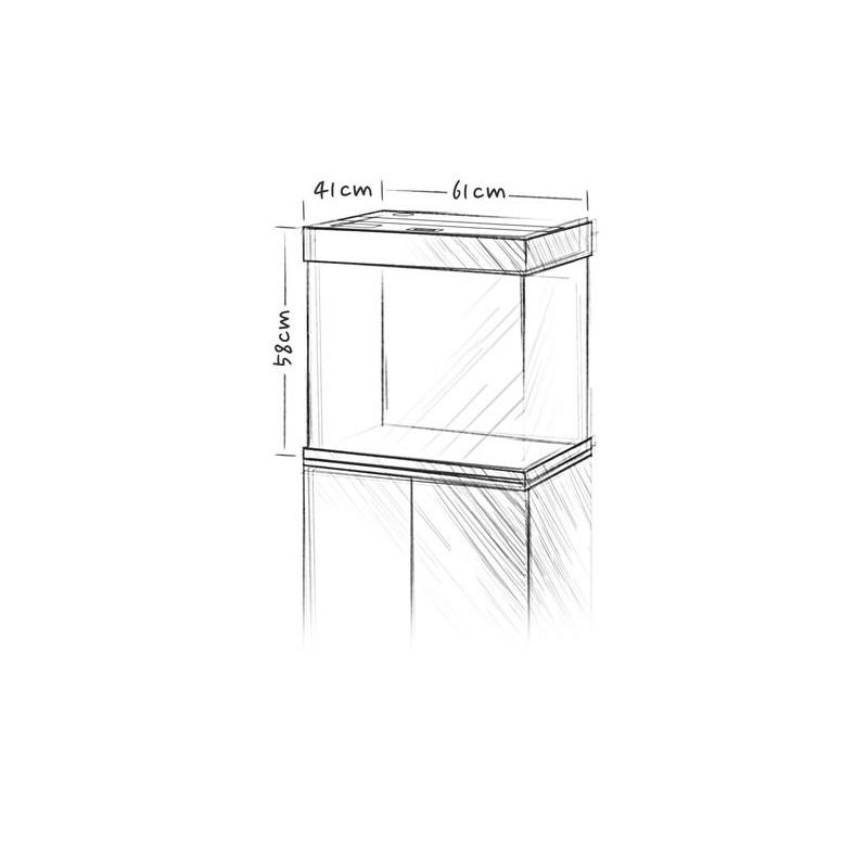 Juwel acquario lido 120 litri bianco for Acquario 120 litri