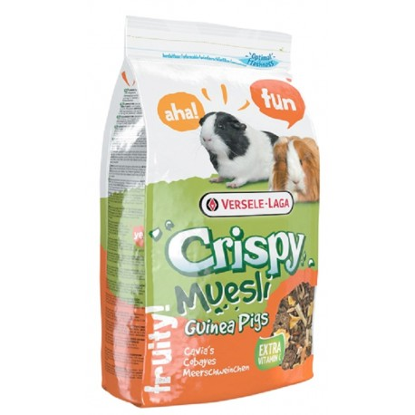 Versele Laga Crispy Guinea Pigs - Mangime per Cavia 1 kg