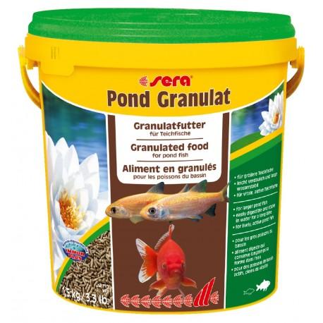 Sera Pond Granulat 10 Litri Mangime per Pesci Grandi Laghetto