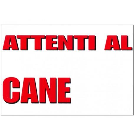 Trixie Cartello Attenti al Cane con Spazio 30 x 20 cm