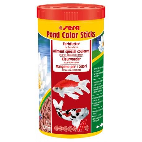 Sera Pond Color Sticks 1000 ml Mangime per Pesci nel Laghetto