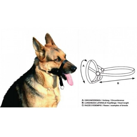 Museruola di addestramento mis.2 per cane