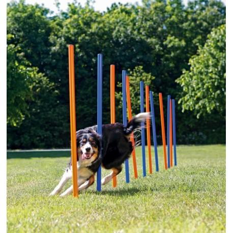 Trixie Dog Slalom Agility 115 x 3 cm 12 pezzi per cane cod. 3206