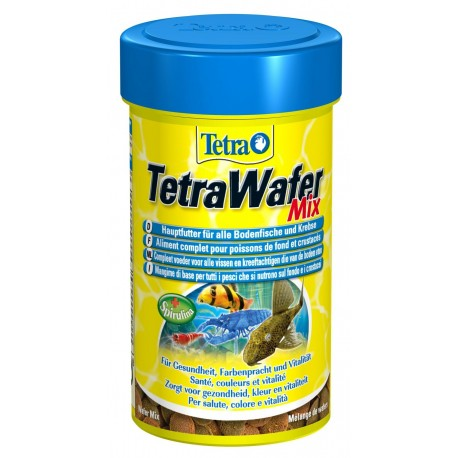 Tetra Wafer Mix 100 ml 48g Mangime per Pesci da Fondo Acquario