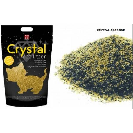 Crystal Sparkling Charcoal Lettiera per Gatti Silicio Agglomerante 1,6 Kg