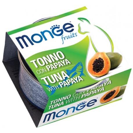 Monge Fruits Tonno con Papaya 80 gr