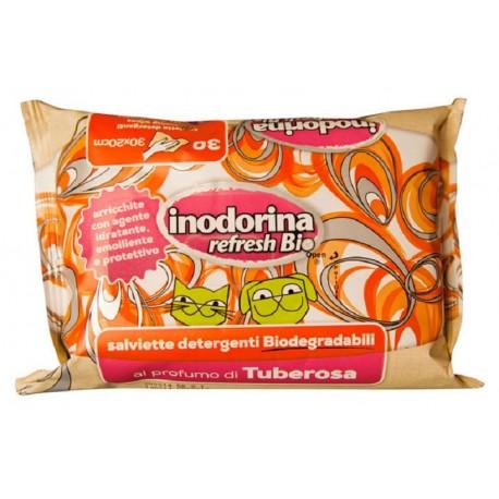 Inodorina Refresh Bio - 30 Salviette Tuberosa