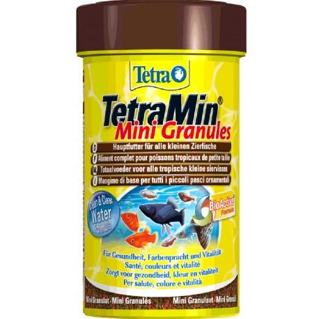 Tetra TetraMin Mini Granules 100 ml 45g Mangime in Granuli per Acquario