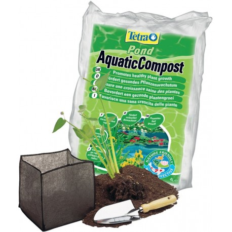 Tetra Pond Aquatic Compost 4 L Argilla per laghetto