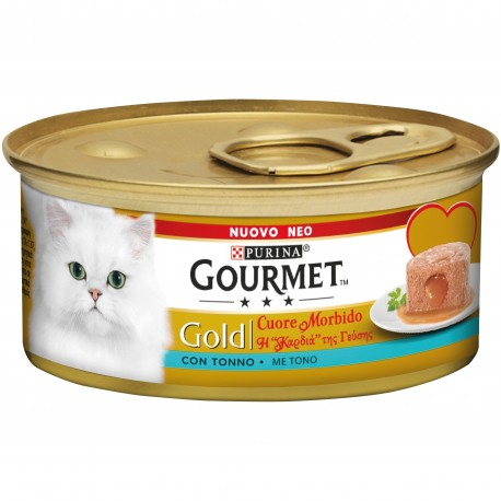 Gourmet Gold Cuore Morbido con Tonno 85 gr