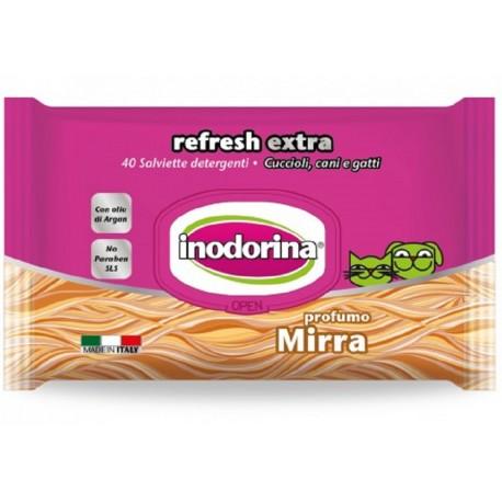 Inodorina Refresh Extra Salviette Igieniche profumo Mirra 40 pz