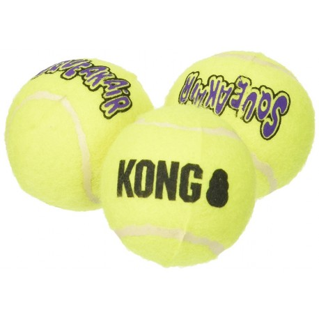 Kong Air Dog Squeakair Balls xetrasmall AST5 Gioco tre Palle per Cani
