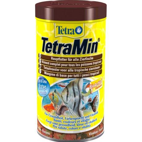 Tetra TetraMin 1000 ml 200g Mangime in Fiocchi per Pesci Acquario