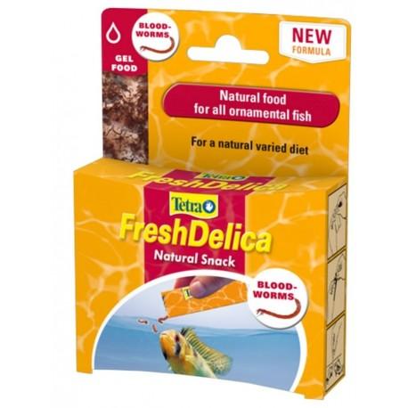 Tetra Fresh Delica Chironomus Mangime in Gelatina per Pesci