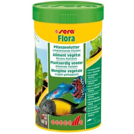 Sera FLORA 250 ml 60g Mangime per Pesci Vegetariani