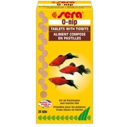Sera O-NIP 24 compresse Mangime in Pastiglie per Pesci