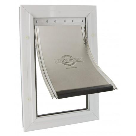 Staywell 620 Porta Basculante in Alluminio per Cani Taglia Media fino a 18 Kg
