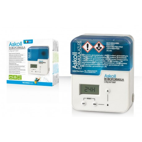Askoll Roboformula Dispenser dosatore per trattamento acqua acquario dolce