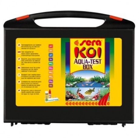 Sera Koi Aqua Test Box 10 test professionali per laghetto
