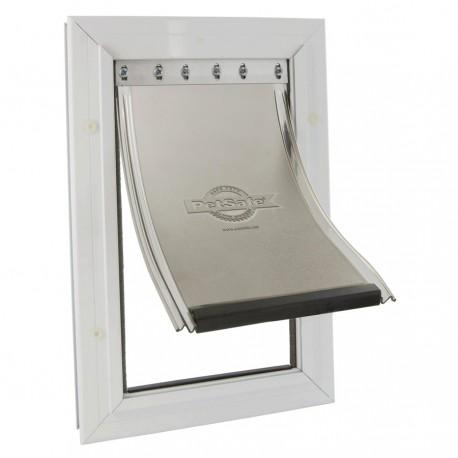 Staywell 640 Porta Basculante in Alluminio per Cani Taglia Grande fino a 45 Kg