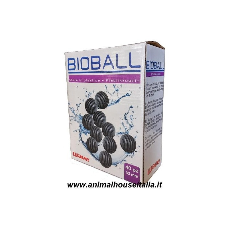 Wave bio ball sfere filtranti per acquario ebay for Acquari usati vendita