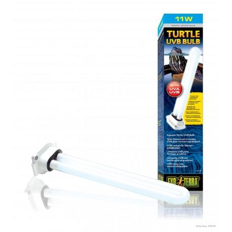 Exo Terra Turtle uvb bulb 11w lampada UVB per plafoniera tartarughe acquatiche