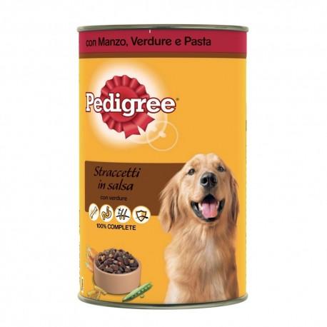 Pedigree Straccetti Manzo/verdure/pasta 400g per cane