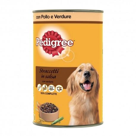 Pedigree Straccetti Pollo/Verdure 400g per cane