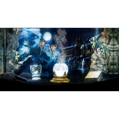 Hydor H2Show Magic World Sfondo + gel per acquario