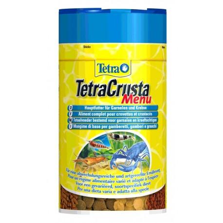 Tetra Crusta Menu 100ml 52g mangime per gamberetti e gamberi acquario