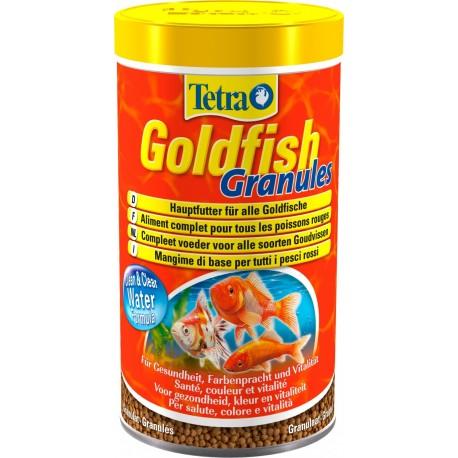 Tetra GoldFish Granules mangime in granuli per pesci rossi acquario