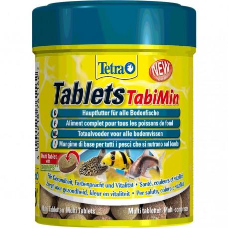 Tetra Tablets TabiMin 66 ml-120 Compresse Mangime per Pesci Acquario