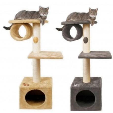 Tiragraffi con nicchia 106cm per gatto modello San Fernando colori diversi