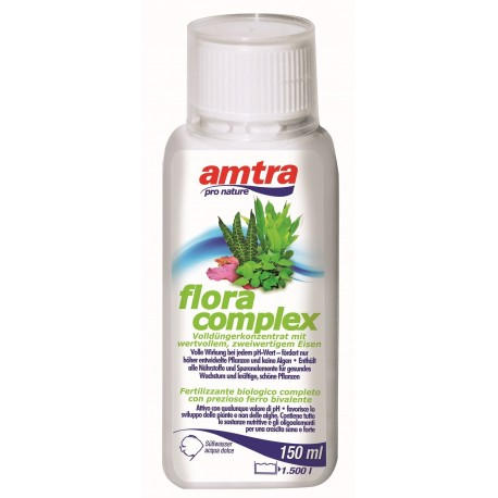 Amtra Flora Complex 150ml per 1500 lt Fertilizzante con ferro