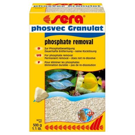 Sera Phosvec Granulat 500g Trattamento Anti Fosfati per Acquario