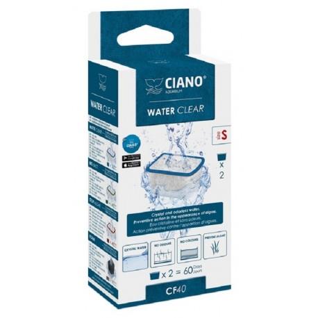 Askoll Ciano Water Clear S ricambio chiarificante per acquario