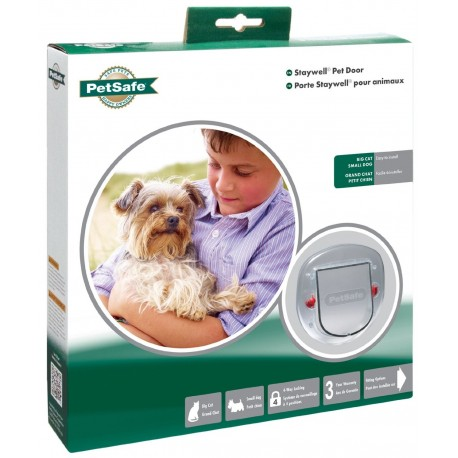Gattaiola porta basculante cani gatto petsafe 280 4 - Porta basculante per cani grandi con microchip ...