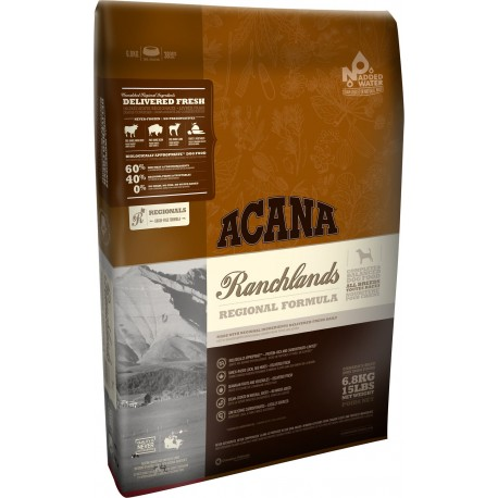 Acana Dog Regionals Ranchlands 11,4 Kg Crocchette per Cani
