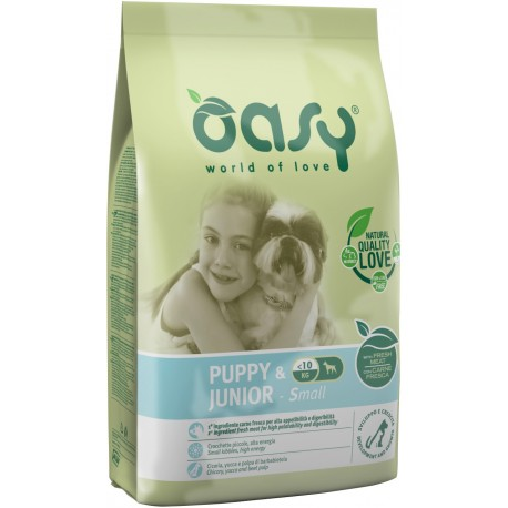 Oasy Dry Dog Puppy & Junior Small 1 Kg