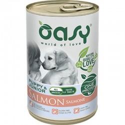 Oasy One Protein Puppy All Breed Monoproteico al Salmone 400 gr Cibo per Cani