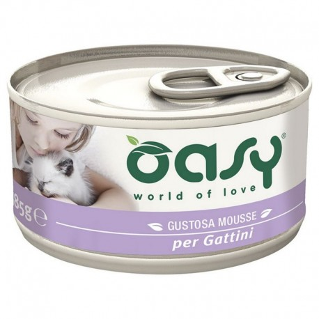 Oasy Wet Cat Mousse per Gattini 85 gr