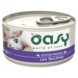 Oasy Wet Cat Mousse Tacchino 85 gr